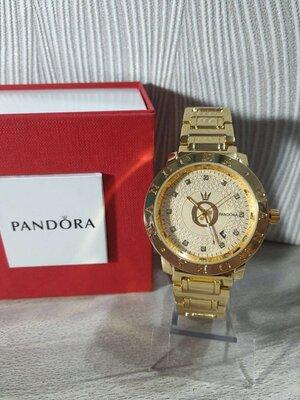 Часы Pandora Пандора, Женские наручные часы желтое золото