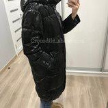 Пуховик 15010 Италия pronto moda черный