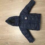 Зимняя курточка для мальчика на 1-2 года