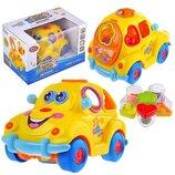 Машинка 9170 Автошка , музыкальная игрушка сортер, развивающая игрушка