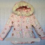 Куртка зимняя еврозима Зайки