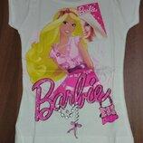 Белая футболка Барби Дисней