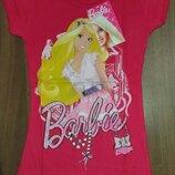Малинова футболка Барби Дисней