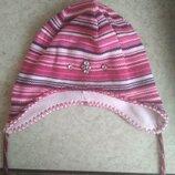 Зимняя шапка с флисовой подкладкой.