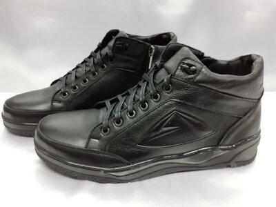Распродажа Зимние кожаные ботинки под кроссовки на молнии Madoks 40,41,42,43,44,45р.