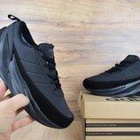 Зимние кроссовки Adidas Sharks черные