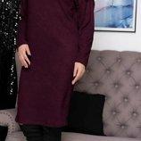 Уютное платье из ангоры - 260 грн Батал