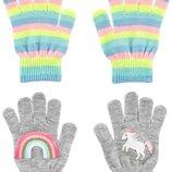 Набор Перчаток Для Девочки 2 Пары CARTER'S США
