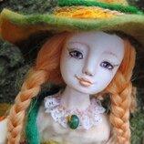 Будуарная кукла - украшение девичей комнаты