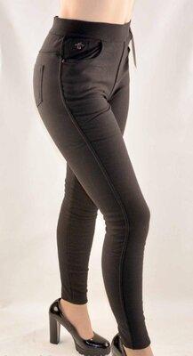 Джеггинсы на меху женские джинсы р. 42-48