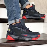 Nike Zoom 2K кроссовки мужские зимние темно синие с красным 8720