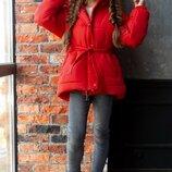 Детские стильные зимние куртки пуховики 4 цвета 134, 140, 146, 152 размер