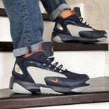 Nike Zoom 2K кроссовки мужские зимние темно синие с серым 8721