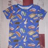 Стильная футболка Next на 5-7 лет