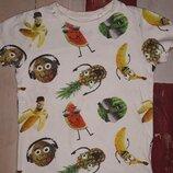 Крутанская футболка Next на 4-6 лет