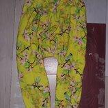 Летние штанишки с матней M&S на 1.5-3 года