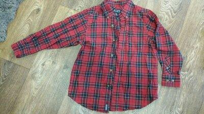 Рубашка на мальчика в школу 116-128р
