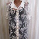 кружевная блуза в стиле ретро