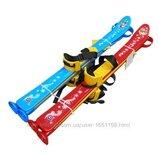 Супер цена Технок Лыжи детские с палками 3350