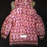 Зимова куртка Lenne 110 см для дівчинки