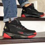 Зимние кроссовки Nike Zoom 2K черные с красным 8723
