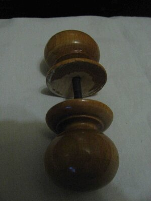 Ручка деревянная декоративная