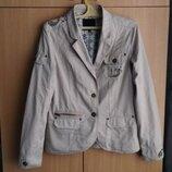 Куртка AMISU/XS-42/Color light Beige/Cotton-100%.