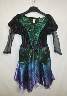 Карнавальный костюм - платье Ведьмочка, Чаклунка, Баба Яга.