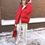 Модные и стильные куртки, матовая плотная плащевка, очень тёплые. 42, 44, 46 рр