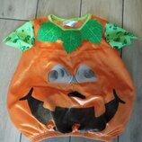 -Карнавальный костюм тыквы, апельсин George р.86-92