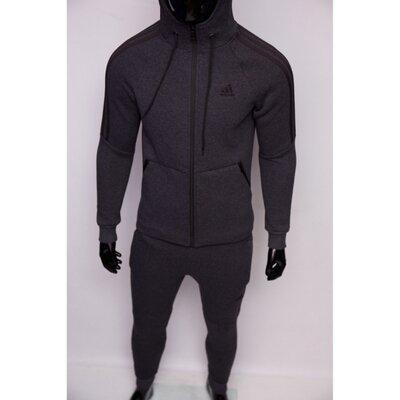 Костюм спортивный мужской теплый Adidas 8331-261 серый