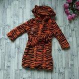 Махровый халат с капюшоном Тигр Disney baby