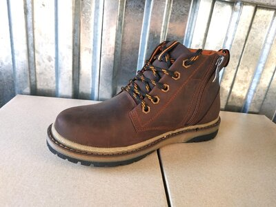 Кожаные зимние ботинки детские, подросток 35-39