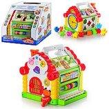 Музыкальная игрушка-сортер Теремок арт.9196