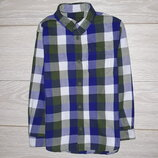 Плотная рубашка F&F на 5-6 и 6-7 лет