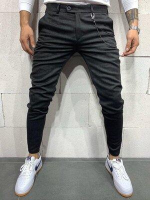Стильные мужские котоновые брюки,2 цвета 30-36