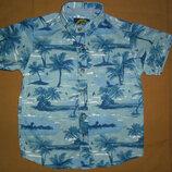 Рубашка тениска для мальчика 4 года,рост 104см от TU