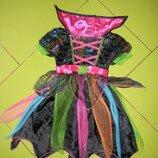 платье TU костюм новогодний карнавальный на девочку 1-2 года отл. сост
