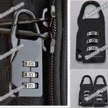 Мини кодовый замок на молнию сумки, рюкзака или чемодана