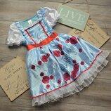 Платье принцесса элли из страны оз TU 7-8л
