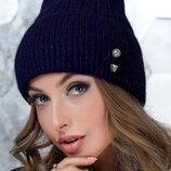 Теплая шапка бини 11 цветов 1017