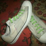 кеды Converse шнурки светящие