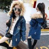Новиночки Детская курточка деми .Размеры 110- 160