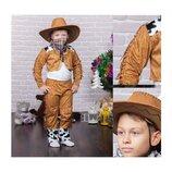 Новогодний костюм Ковбой, 3 размера на возраст 3-9 лет.