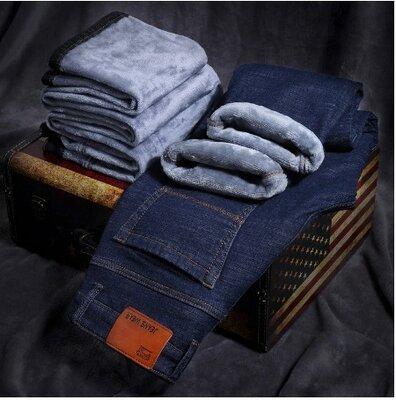 Распродажа Отличные мужские джинсы на флисе. Очень теплые и плотные