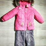 LENNE курточка и полукомбинезон для девочки