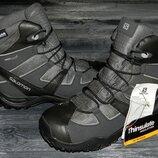 Новые salomon clima shield оригинальные невероятно крутые термо ботинки осень-зима