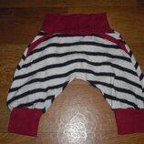 Теплые шерстяные штанишки для малышей р. 56-62