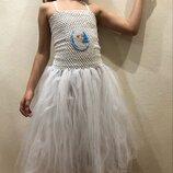 Платье снежинки на Новый год нарядное платье