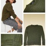 Пушистый махеровый свитер new look 10-13 лет 140-146 см